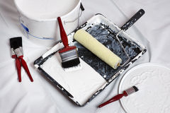 Painting and decorating Stock Image