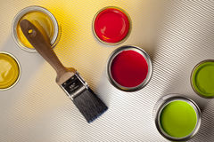 Painting and Decorating - Interior Design royalty free stock photos