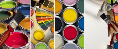 Painting and Decorating Royalty Free Stock Photography