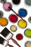 Painting and Decorating Stock Photography