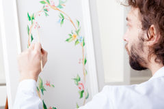 Painting Decorator Stock Photography