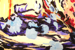 Painting detail Royalty Free Stock Photos