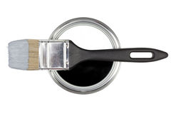 Painting DIY. Black and white concept. Royalty Free Stock Images