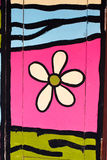 Painting on the door Stock Photos