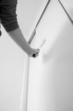 Painting door roller A Royalty Free Stock Images