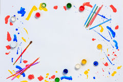 Painting and drawing hobby Royalty Free Stock Images