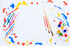 Painting and drawing hobby Royalty Free Stock Photo