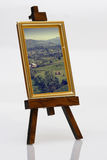 painting on easel Stock Images