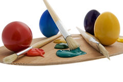 Painting Easter egg Stock Image