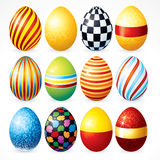 Painting Eggs Stock Image