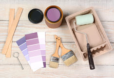 Painting Equipment Royalty Free Stock Photography