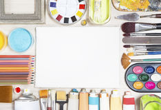 Painting equipment Royalty Free Stock Photos