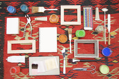 Painting equipments Royalty Free Stock Image