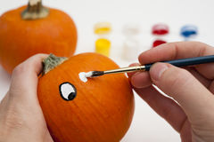 Painting the Eyes Stock Photos
