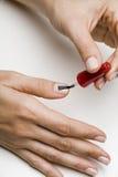 Painting Fingernails Royalty Free Stock Image