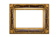 Painting frame isolated on white background Stock Images