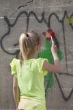 Painting fun Royalty Free Stock Photo