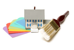 Painting at Home Royalty Free Stock Image