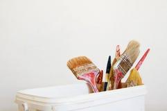 Painting brush tool Stock Photo