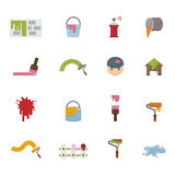 Painting Icons Royalty Free Stock Photo