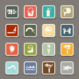Painting Icons.vector Stock Images