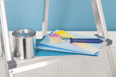 Painting the interior Royalty Free Stock Images
