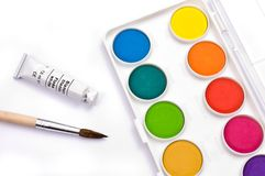 Painting kit Royalty Free Stock Images