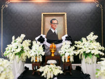 painting of The late King Bhumibol Stock Photos
