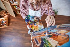Painting masterpiece Royalty Free Stock Images
