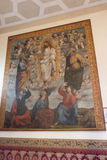 Painting of the Museo dell`Opera metropolitana del Duomo, Siena, Italy. Royalty Free Stock Photos
