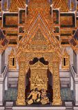 Painting and ornament traditional thai style Royalty Free Stock Photo