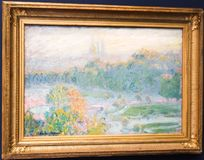 Painting at  Orsay museum Paris France - Musee d`Orsay Stock Photos