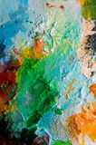 Painting palette Royalty Free Stock Photos