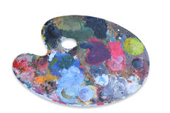 Painting palette. Royalty Free Stock Photo