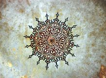 Painting Pattern. Ottoman-Turkish Style Painting Pattern, painted in 1506 royalty free stock images