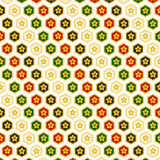 The painting patterns. Sakura Japanese style floral background illustration of a gold Royalty Free Stock Photography