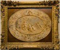 A painting by Peter Paul Rubens in the National Gallery in London royalty free stock image