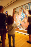 Painting by Picasso in MoMA of New York Stock Photo