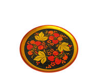Painting plate Royalty Free Stock Image