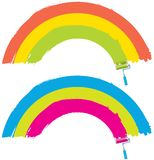 Painting rainbow Royalty Free Stock Photos