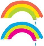 Painting rainbow Royalty Free Stock Photos