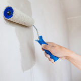 Painting roller Stock Image