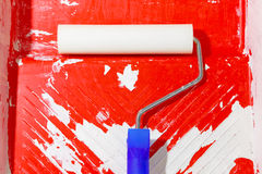 Painting roller Royalty Free Stock Photos