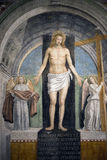 Painting in Sant'Ambrogio church (Milan) Stock Photography