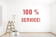Painting service Royalty Free Stock Photography