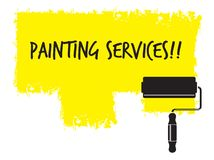 Painting service Stock Photos