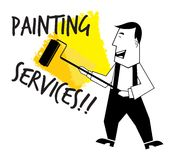 Painting service Royalty Free Stock Photos