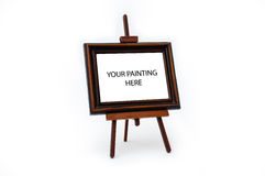 Painting stand Royalty Free Stock Photo