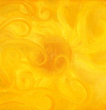 Painting sun and ornaments,  on canvas. Stock Photography