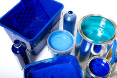 Painting supplies Royalty Free Stock Photography